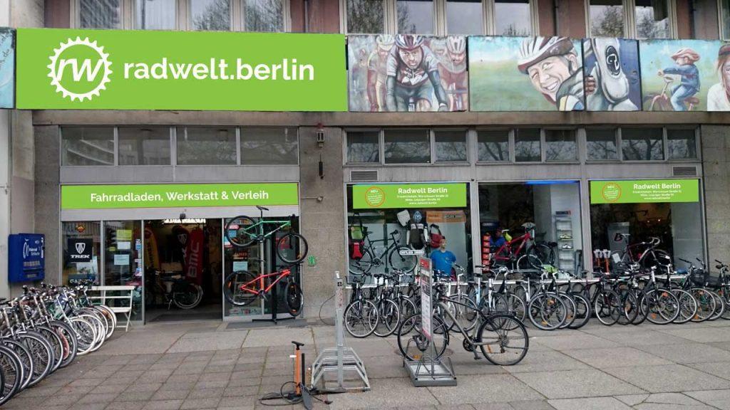 Fahrradverleih Mitte - Radwelt Berlin Mitte